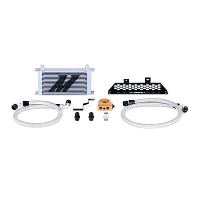 Mishimoto Oil Cooler Kit Thermostatic (Silver) fits Ford Focus ST