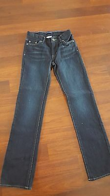 Girls Levis Blue Jeans Sz 10 Slim Nwt!