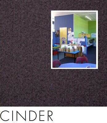 FreePost; PUR04 2.16 sqm of; DIY Acoustic Fabric Wall Tiles CINDER