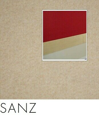 FreePost 2.16 sqm BROWN (Sanz Brn04) Acoustic Fabric Peel n Stick Wall Tiles