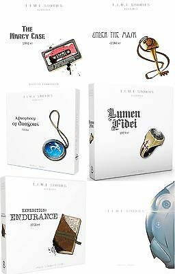 T.I.M.E (Time) Stories board game + All Expansions Bundle (New)