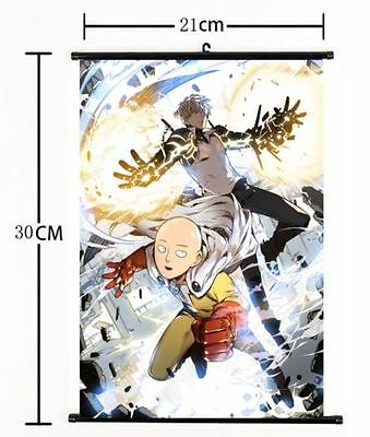 Japan Anime One Punch Man home decor Wall Scroll Poster cosplay s590
