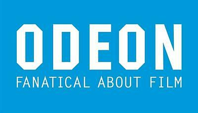 Odeon Cinema Ticket Adult E-Voucher Code via Email Instant outside M25