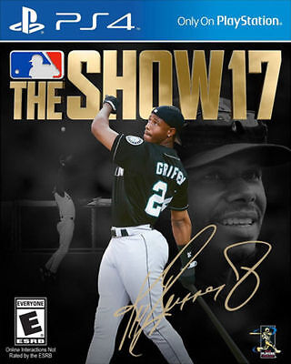 MLB The Show 17 PS4 Game Brand New * AU STOCK*