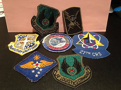 U.S. 'Air Force Patches...Lot of 7'..some vintage..some current..collectible.!