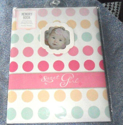 Stepping Stones Sweet Girl First Memory Book Brand New