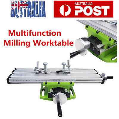 Milling Machine Vise Fixture Adjustment Worktable Bench Drill Clamp AU