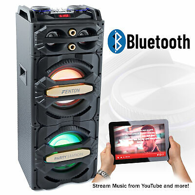 Home Party Disco Speaker with Built-In Bluetooth USB Media Player Station 800w