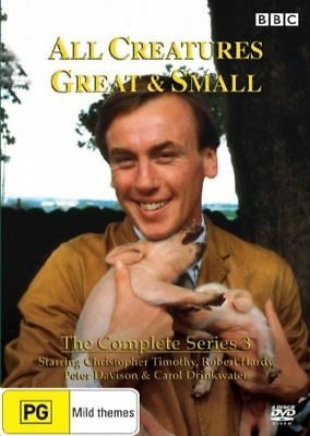 All Creatures Great And Small : Series 3 (DVD, 3-Disc Set) (D116/D152/D175/D228