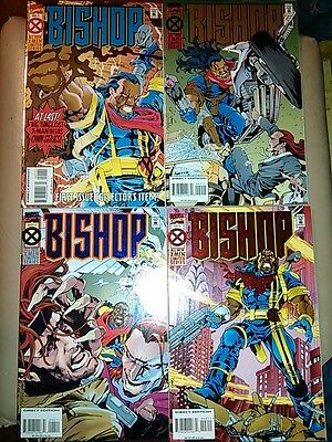 Marvel Comics X-Men Bishop Limited 1-4 NM 1st ed Cam Smith Pancheo XSE Gambit 94