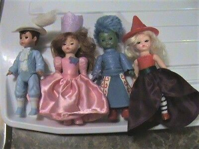 4 Madame Alexander Dolls - Happy Meal Mcdonald's Wicked Witch Of the East Glinda