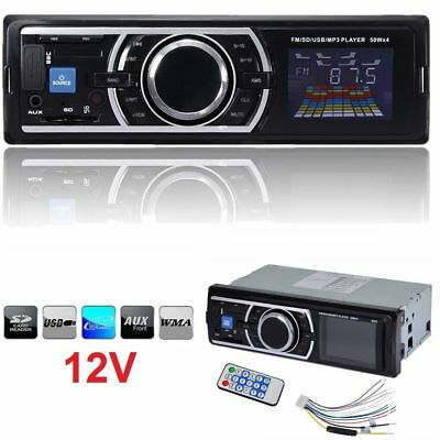 Car Audio Stereo In Dash AM FM Aux Input Receiver SD USB MP3 Radio Player CF2