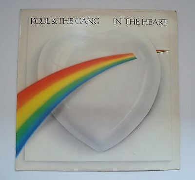 Kool & The Gang - In The Heart Vinyl LP Album Record VG/EX Condition A2/B1
