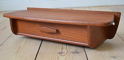 Danish Mid-Century Teak 'Key Drawer', 1960's.