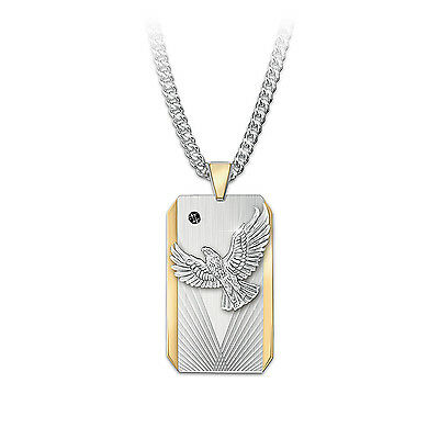 """""""Seize The Day"""" Dog Tag-Style Pendant Necklace For Sons"""