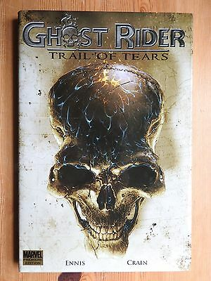 Ghost Rider: Trail of Tears - Ennis & Crain HB/DJ (2007) 1st printing