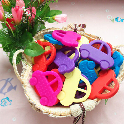 Car Shape Baby Toys Baby Dental Care Toothbrush Training Silicone Baby Teether