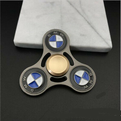 bmw round spinner fidget hand finger focus toy edc pocket. Black Bedroom Furniture Sets. Home Design Ideas