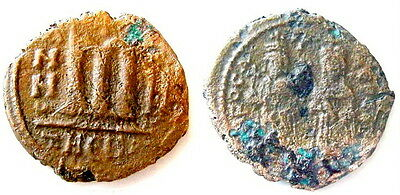 Phocas and Leontia. 602-610 AD follis Antioch as Theopolis coin AE #V441-450