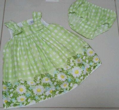 Mayoral Baby Girls Beautiful Summer Dress And Pants Age 12/18 Months