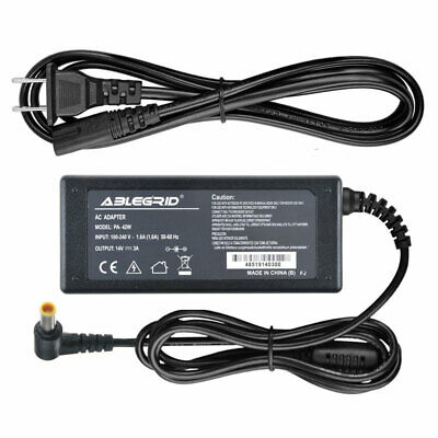 Generic 14V AC Adapter for Samsung SyncMaster S24A300B S27B350H LED LCD Monitor