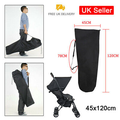 Pram Gate Check Travel Bag Umbrella Stroller Pushchair Buggy Cover UK Seller SUN
