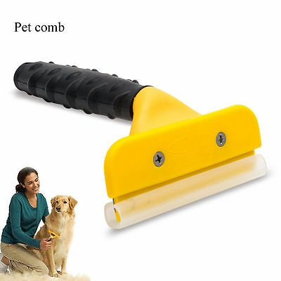 Professional Pet Dog Cat Hair Fur Shedding Trimmer Grooming Rake Comb Brush Tool