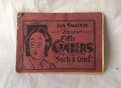"iva Snatch Presents Ella Cinders ""Such a Grief"" Risque Booklet"