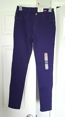 NWT - Girls Size 16R - ARIZONA- purple super skinny stretch Jeggings (Jean's)