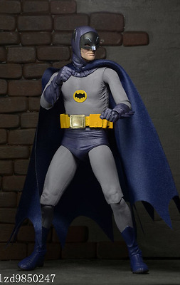"0Neca Batman 1966 Dc Comics Collectible Classic Tv Series 7"" Action Figure"