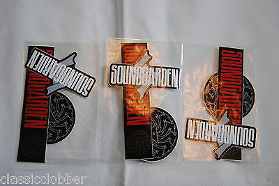 SOUNDGARDEN TOUR STICKERS x 9 NEW OFFICIAL RARE SUPERUNKNOWN KING ANIMAL CORNELL