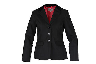 RED HORSE Elegant Ladies Riding Show Jacket - 'Hippique'