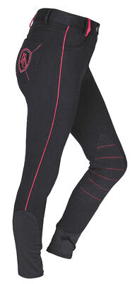 RED HORSE Childrens Contrasting Elasticated Breeches - 'Demy'