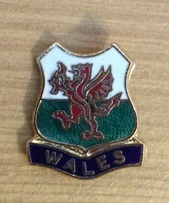 Wales Enamel Pin Badge