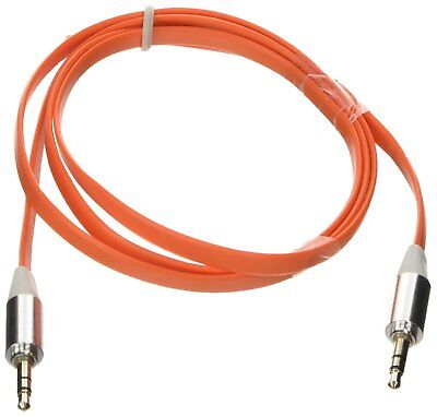 Poppstar câble jack 3,5 mm audio mâle à l'extension femelle câble orange de 1m