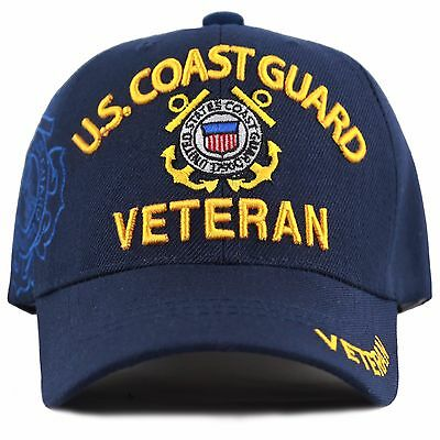 The Hat Depot 1100 Official Licensed U.S. Coast Guard Embroidered Cap