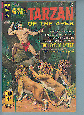 Tarzan 187 VF+ (1969) Gold Key Comic