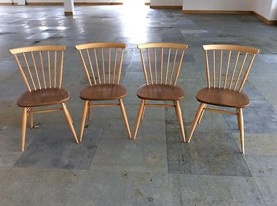 set of 4 original Ercol 449 Windsor Bow chairs- 229