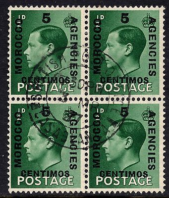 GB Edward VIII Definitives Morocco Agencies SG160 Fine Used