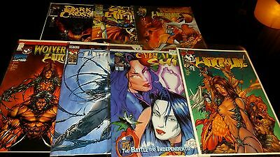 IMAGE WITCHBLADE lot run 41-80 turner 1st Appearance variant 1/2 tales NM COPIES