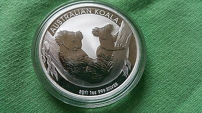 2011 Australia Koala 1 oz. Silver Coin - Perth Mint ( from mint roll)