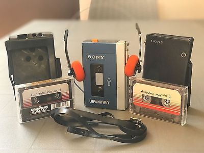Vintage Sony 1 ° Walkman Stereo Tps -L2Cassette Player  Guardians Of The Galaxy