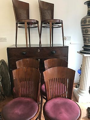 Art Deco Style Cafe Bistro Chairs