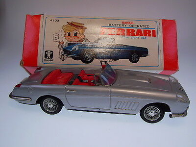 "GSPKW ""FERRARI GEAR SHIFT CAR"" BANDAI JAPAN, 28cm, BO OK, LIKE NEW/NEU IN BOX !"