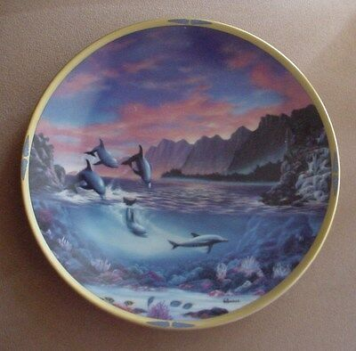 Lenox A NEW DAY Sea of Dreams Plate Collection DOLPHINS