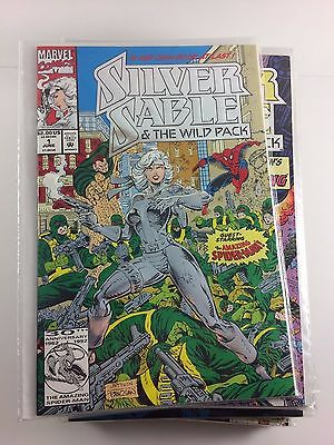 Silver Sable and the Wild Pack #1-24 Complete Unbroken Run Comics High Grade