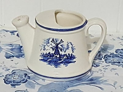 Lovely Blue & White China / Porcelain Watering Can