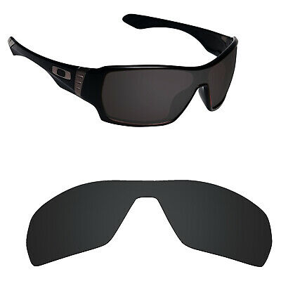 5f74c6c6e3 Hawkry Polarized Replacement Lenses for-Oakley Offshoot Sunglass Stealth  Black