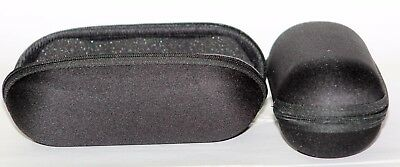 6'' Padded Pouch Hard Case Protective For Glass Pipe Storage Zipper Travel,BLACK