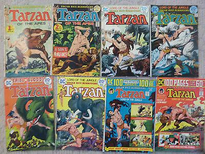 Dc Comics Tarzan Of The Apes 16 Issue Lot #207,208,226-238,dc-19 100 Page Spec